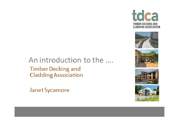 Janet Sycamore - Timber Decking and Cladding Association